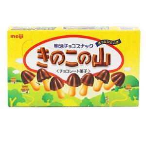 明治 蘑菇形巧克力饼干